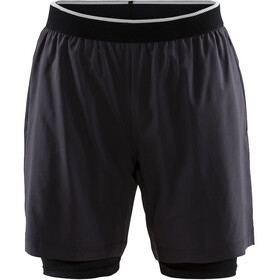 Craft Charge - Pantalones cortos running Hombre - gris
